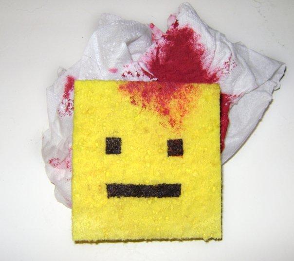 Dead sponge