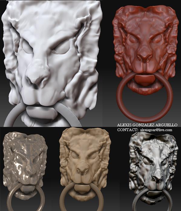 Lionhead (zbrush)