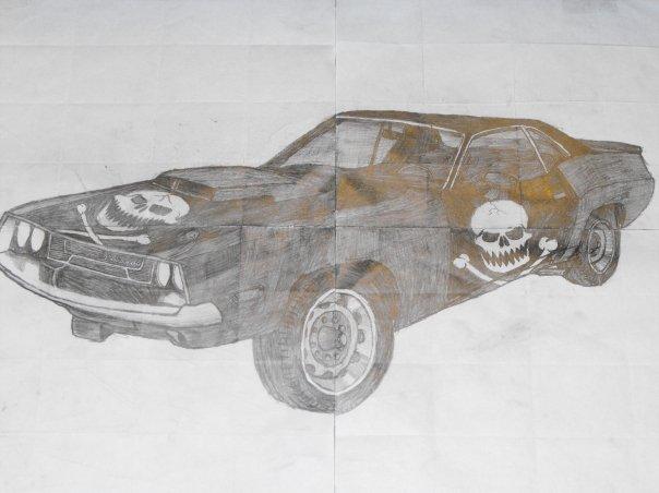 My car drawing