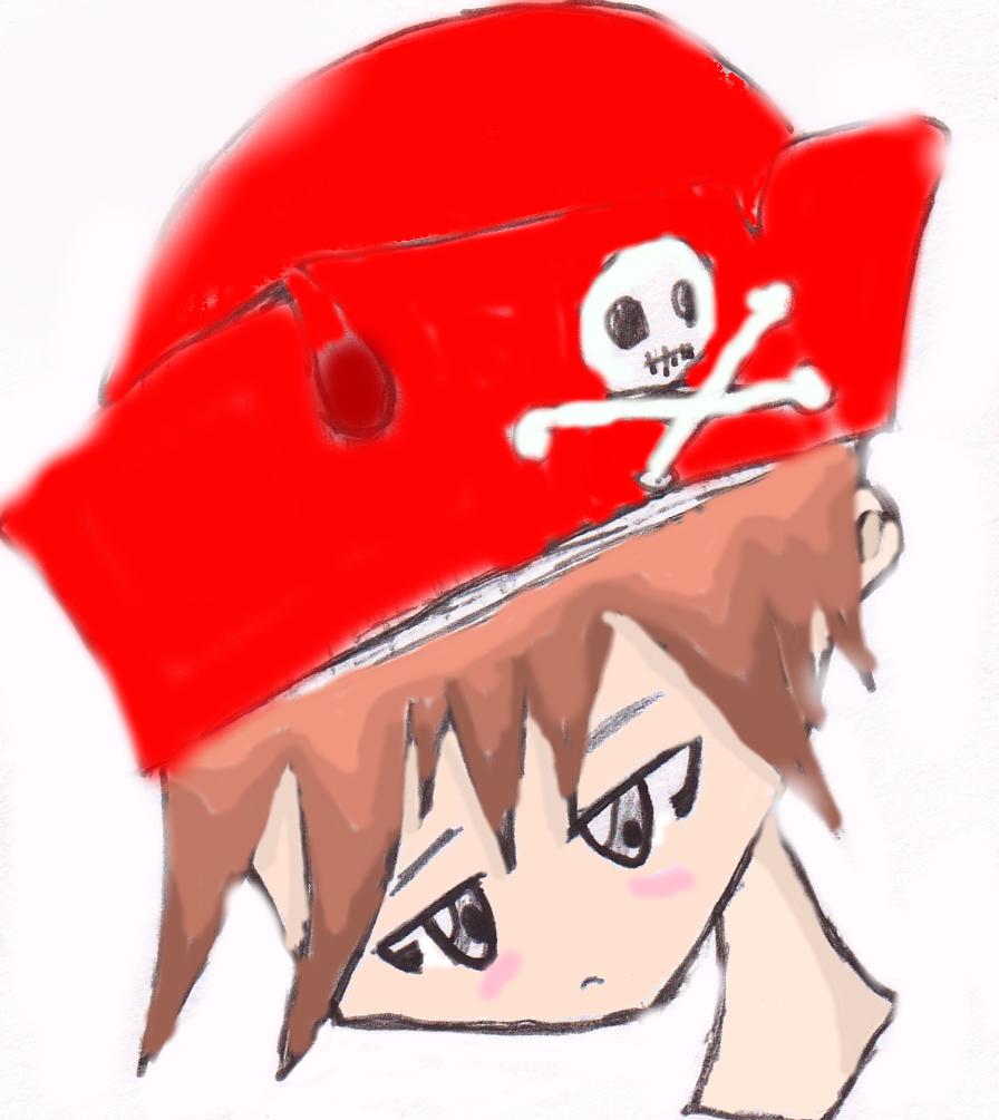 Cute pirate? :]