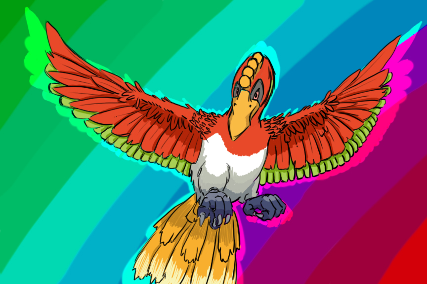 Ho-oh's majesty