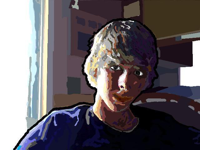 MS Paint Self Portrait