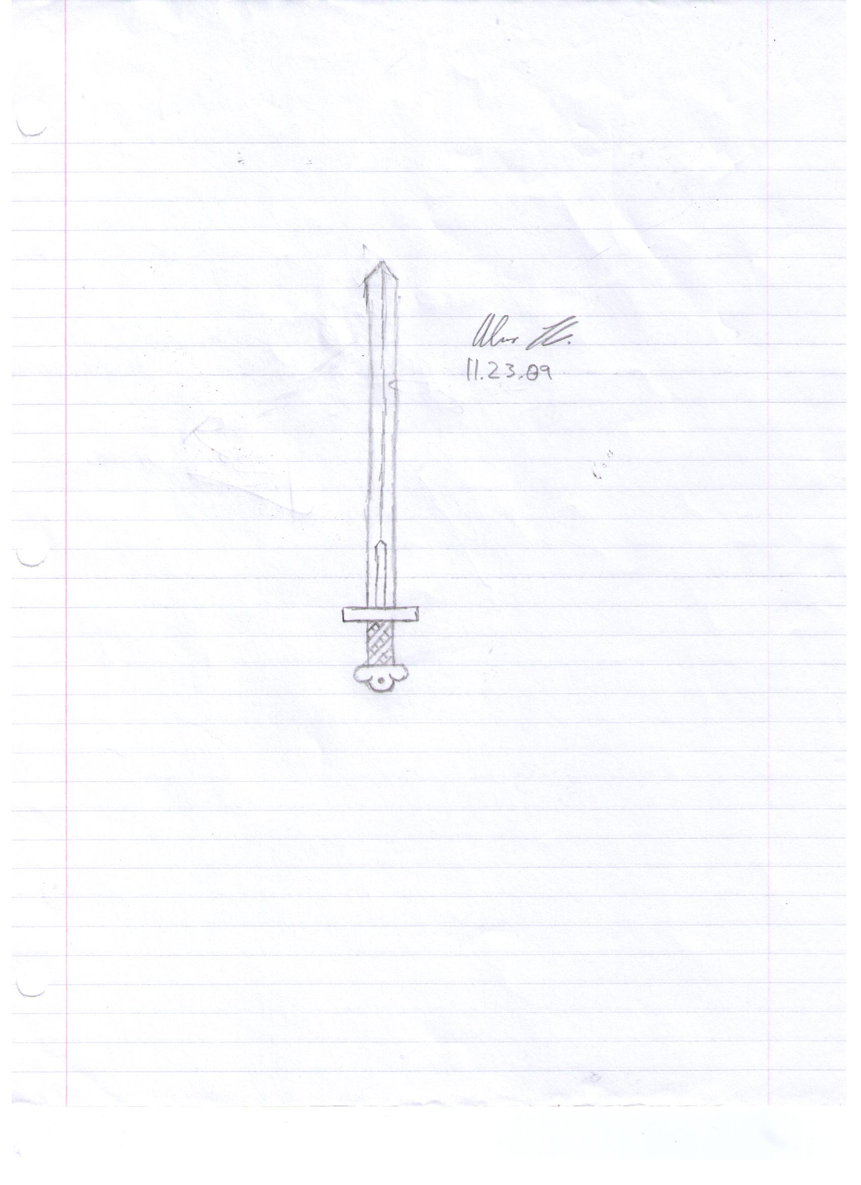 Unnamed One-Handed Sword