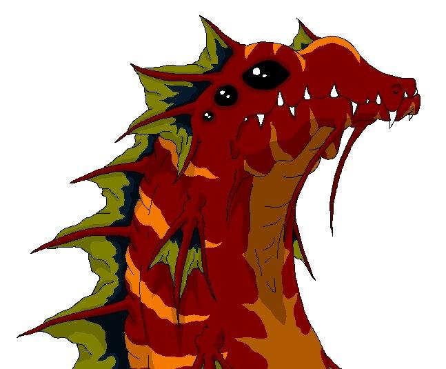 Dragon Drawing 1