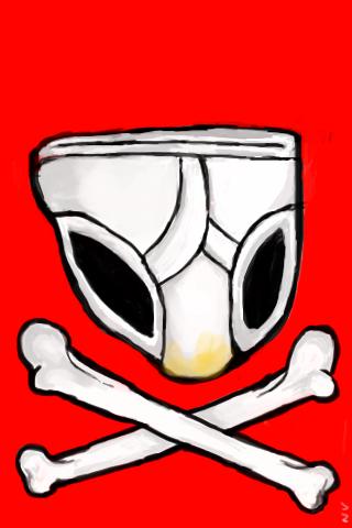 Underpants and bones
