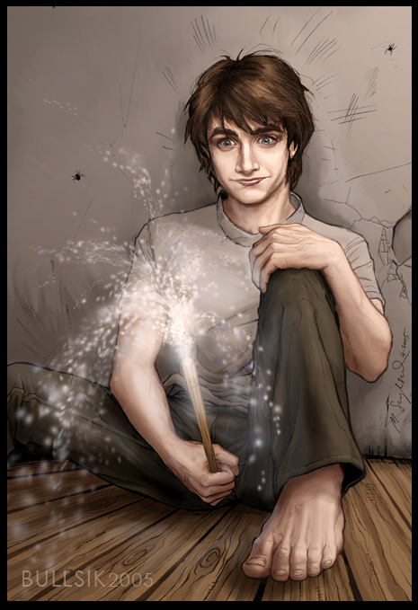 Dan Radcliffe learns magic