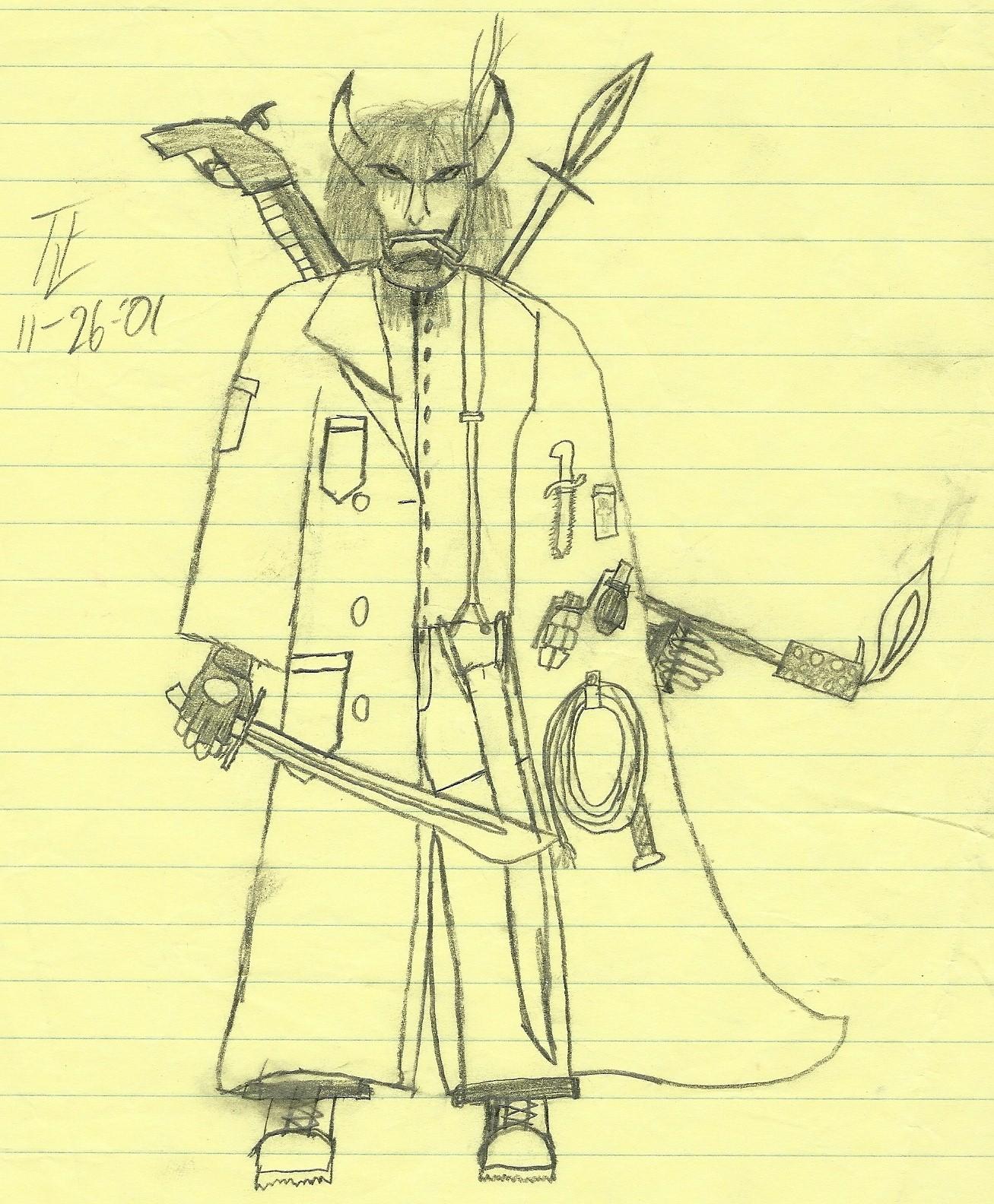 Monster killer guy