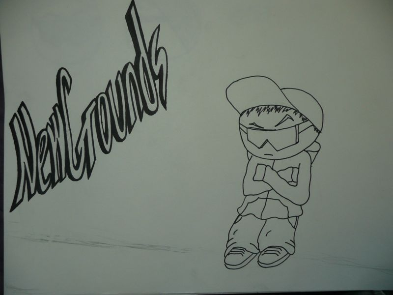 Newgrounds Doodle