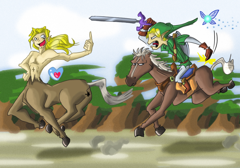Centaurs are bad People
