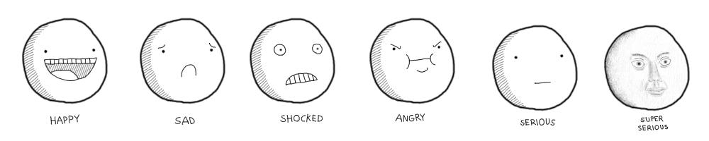 Stick Figure Emotions