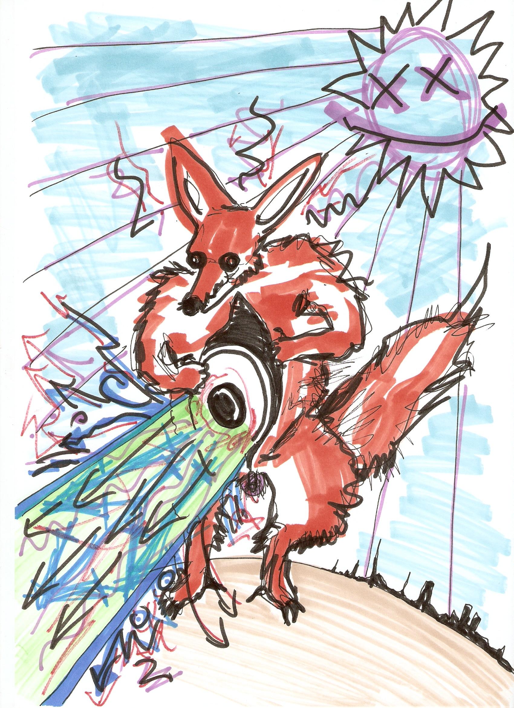 Acid Fox Attack!