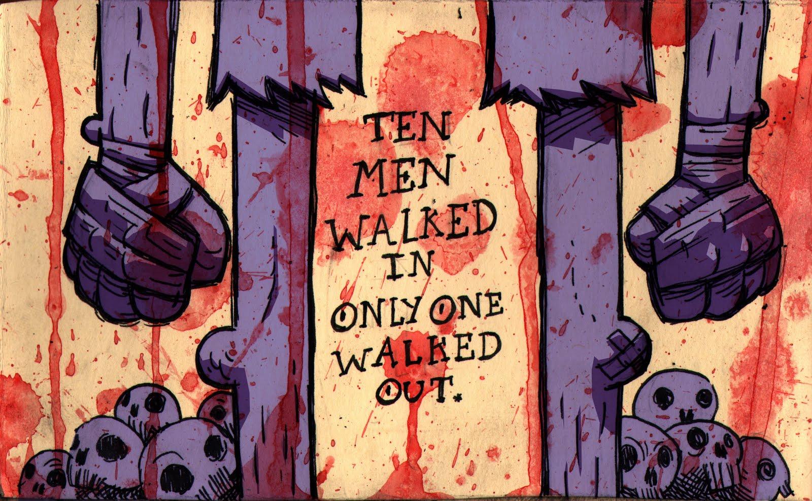 Ten men