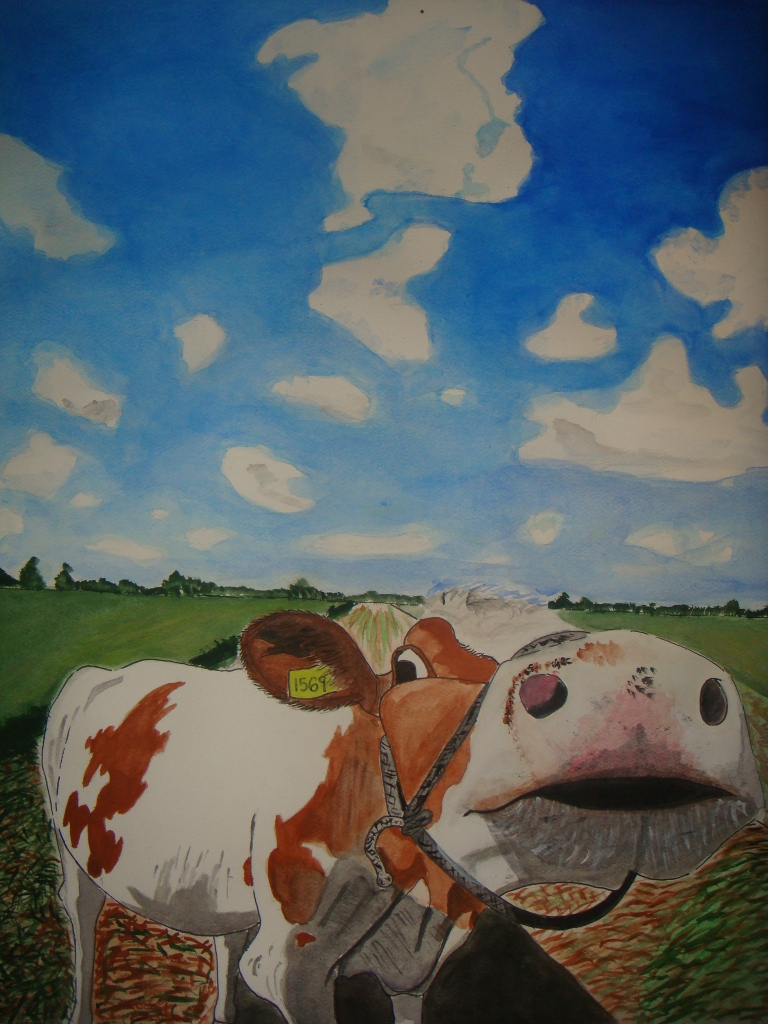 Happy cows come from Guam