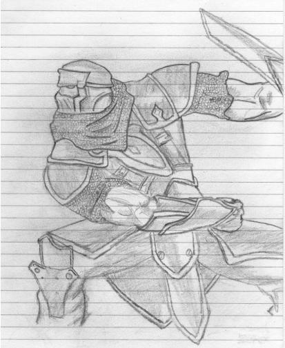 Warrior from Scratch