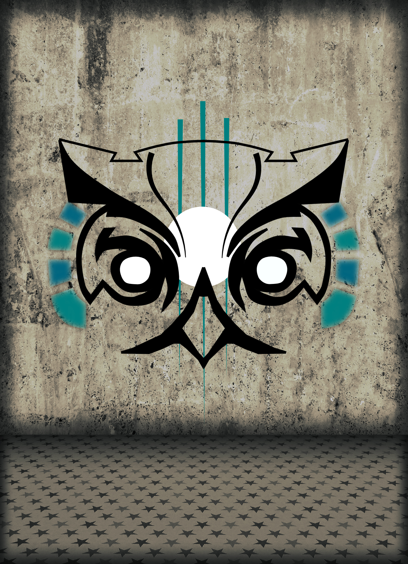Owl with Background