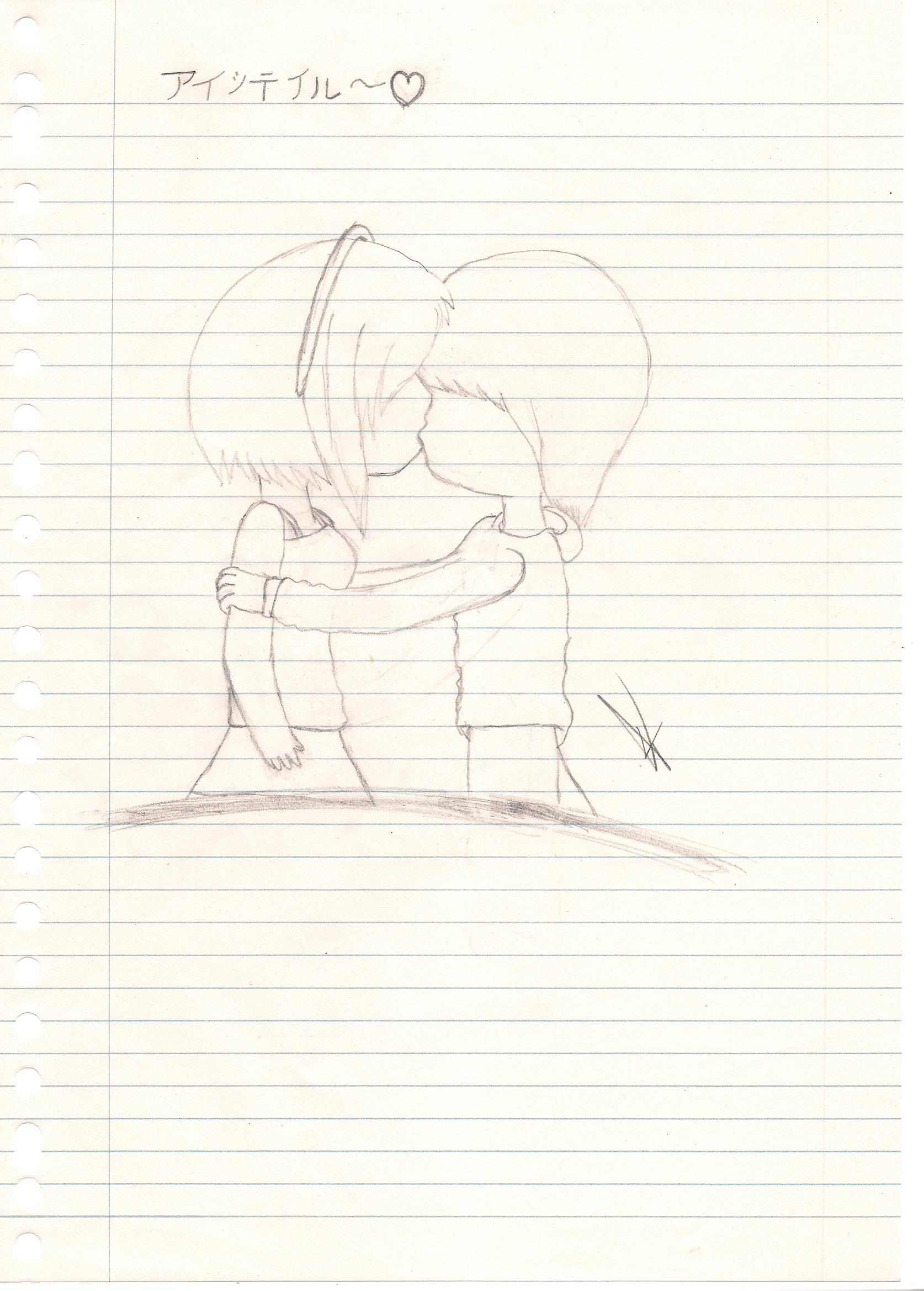Valentine drawing K<3 K