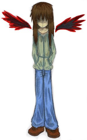 Random emo angel