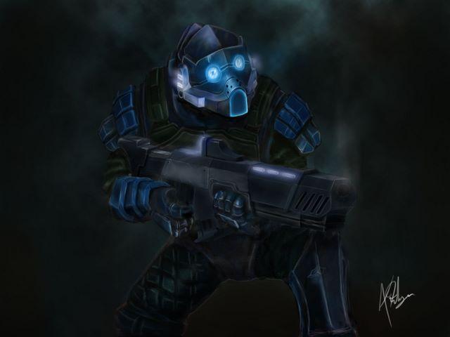 Sci fi shooter
