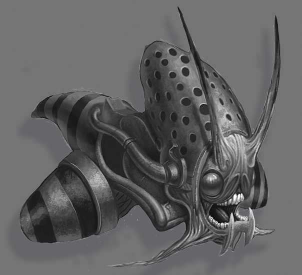 Bee warrior concept