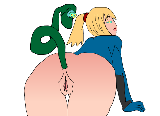 Kaa and Samus