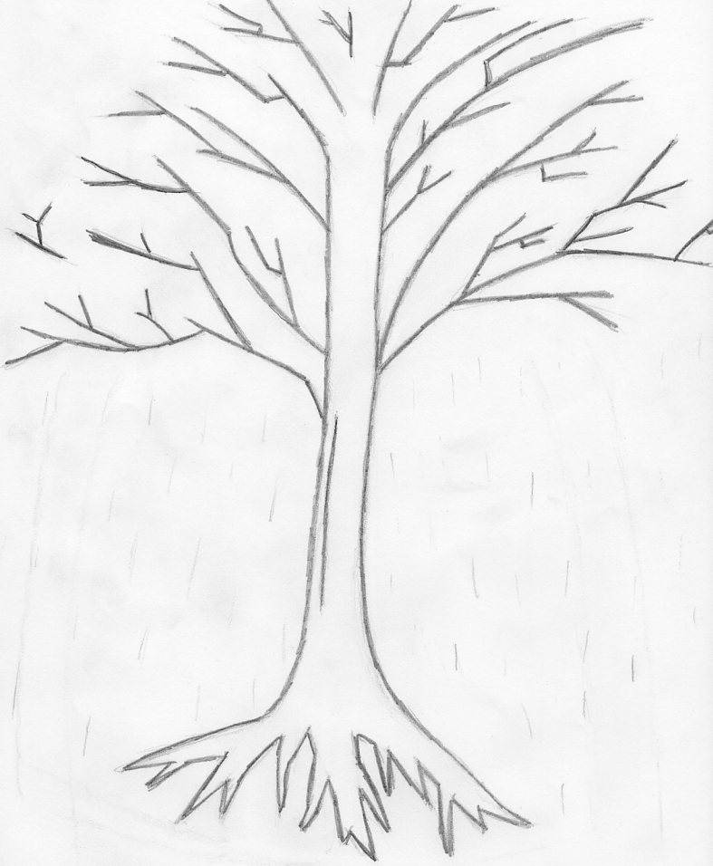 A sad little tree