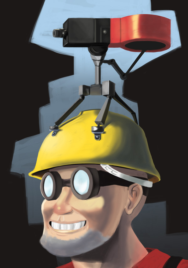 Engineer's new hat