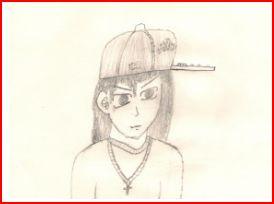 What I look like in manga