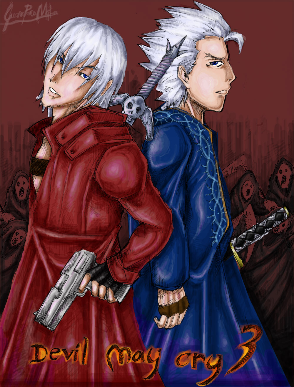 Dante and Vergil : DMC 3