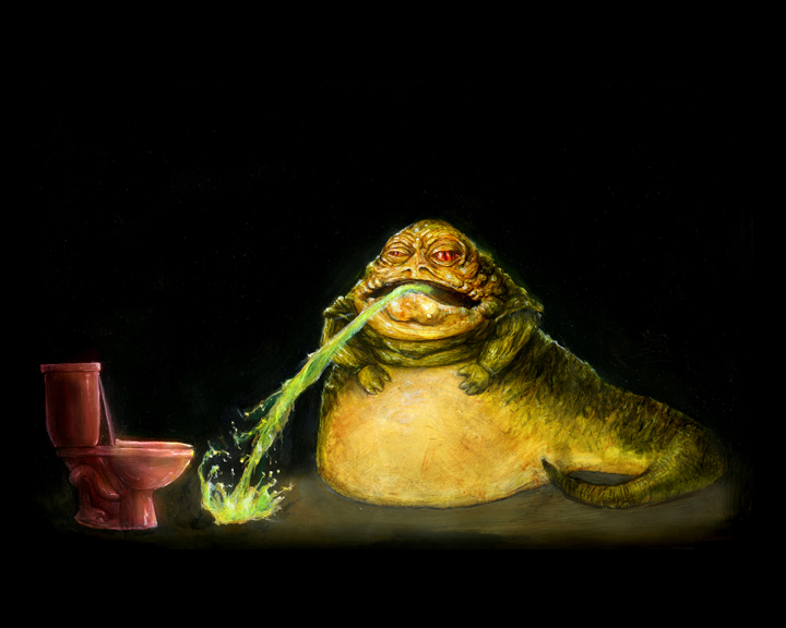 Jabba Puking