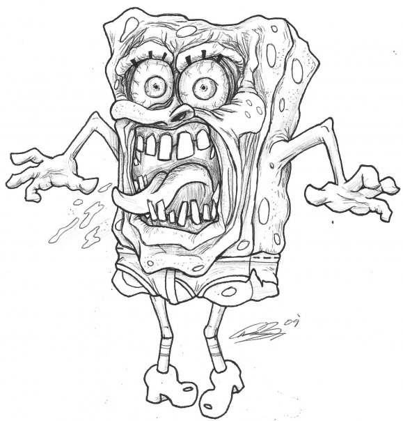 Ol' SpongeBob Methpants