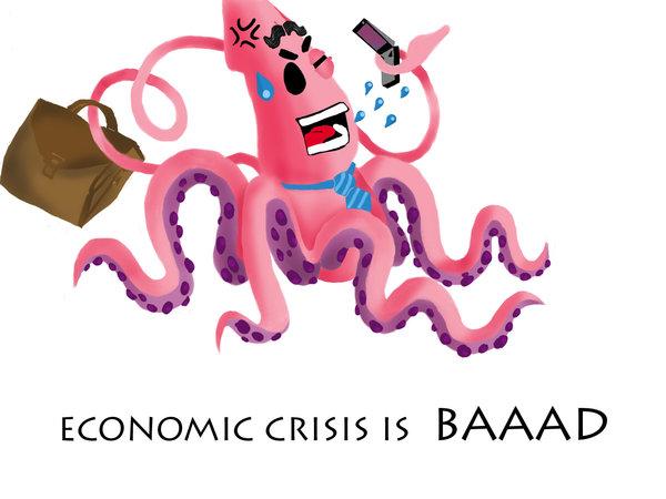 Economic crisis octopus