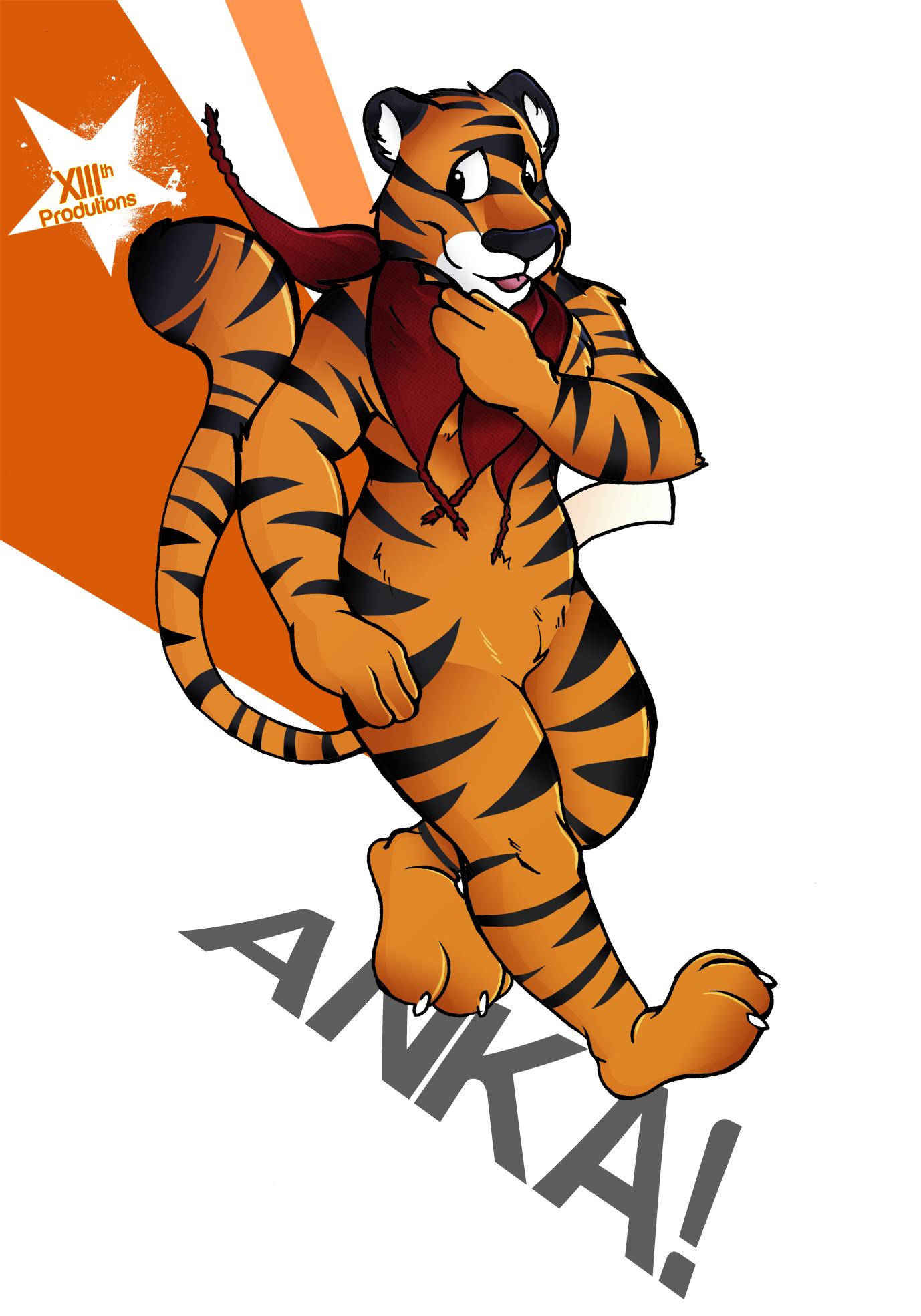 Anka Tigerpluchie!