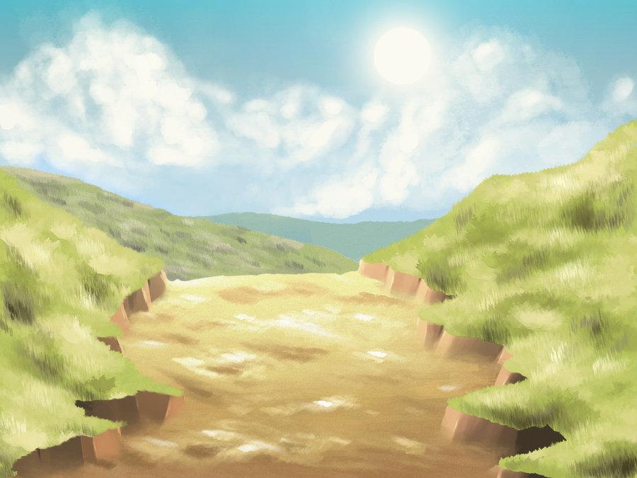 anime style background