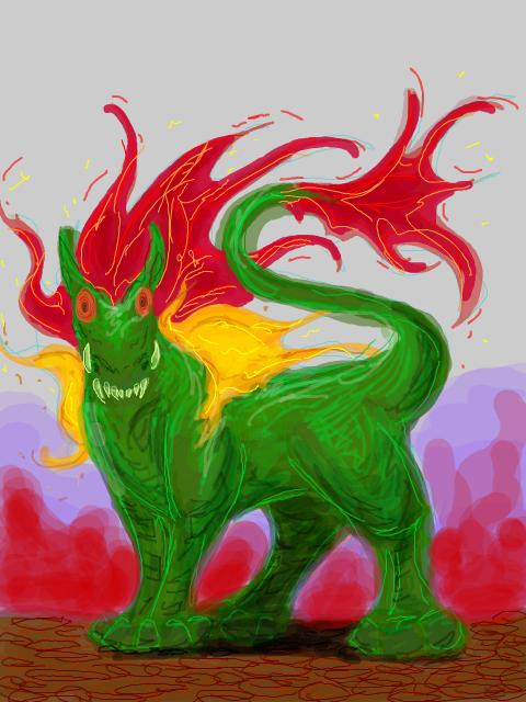 Green Firecracker