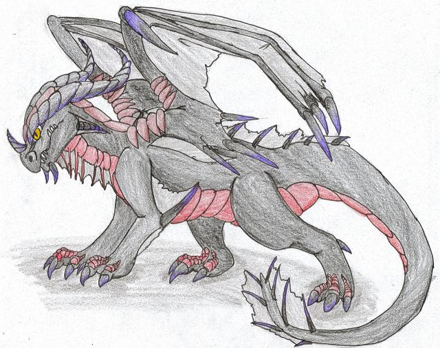 Ki'Eruu as a WoW Dragon