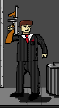 Pixel mobster
