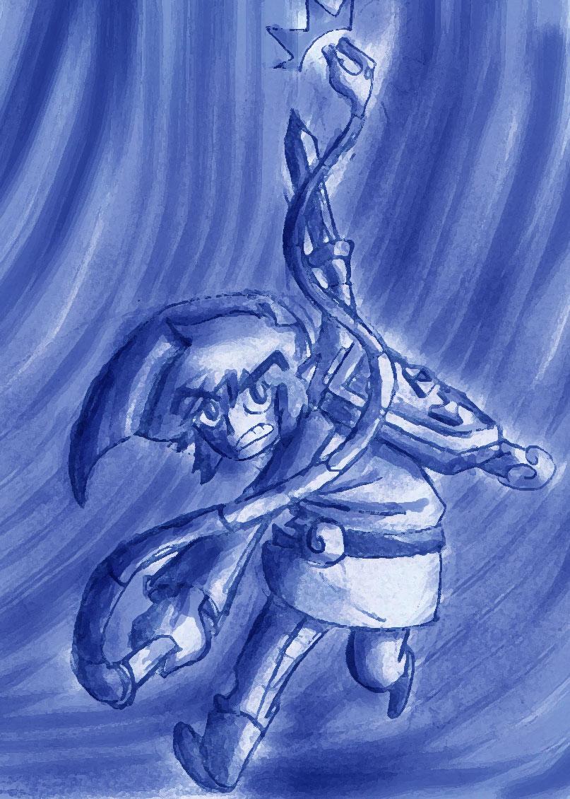 the legend of Zelda: Blue Link