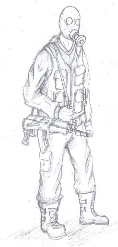 Military stalker