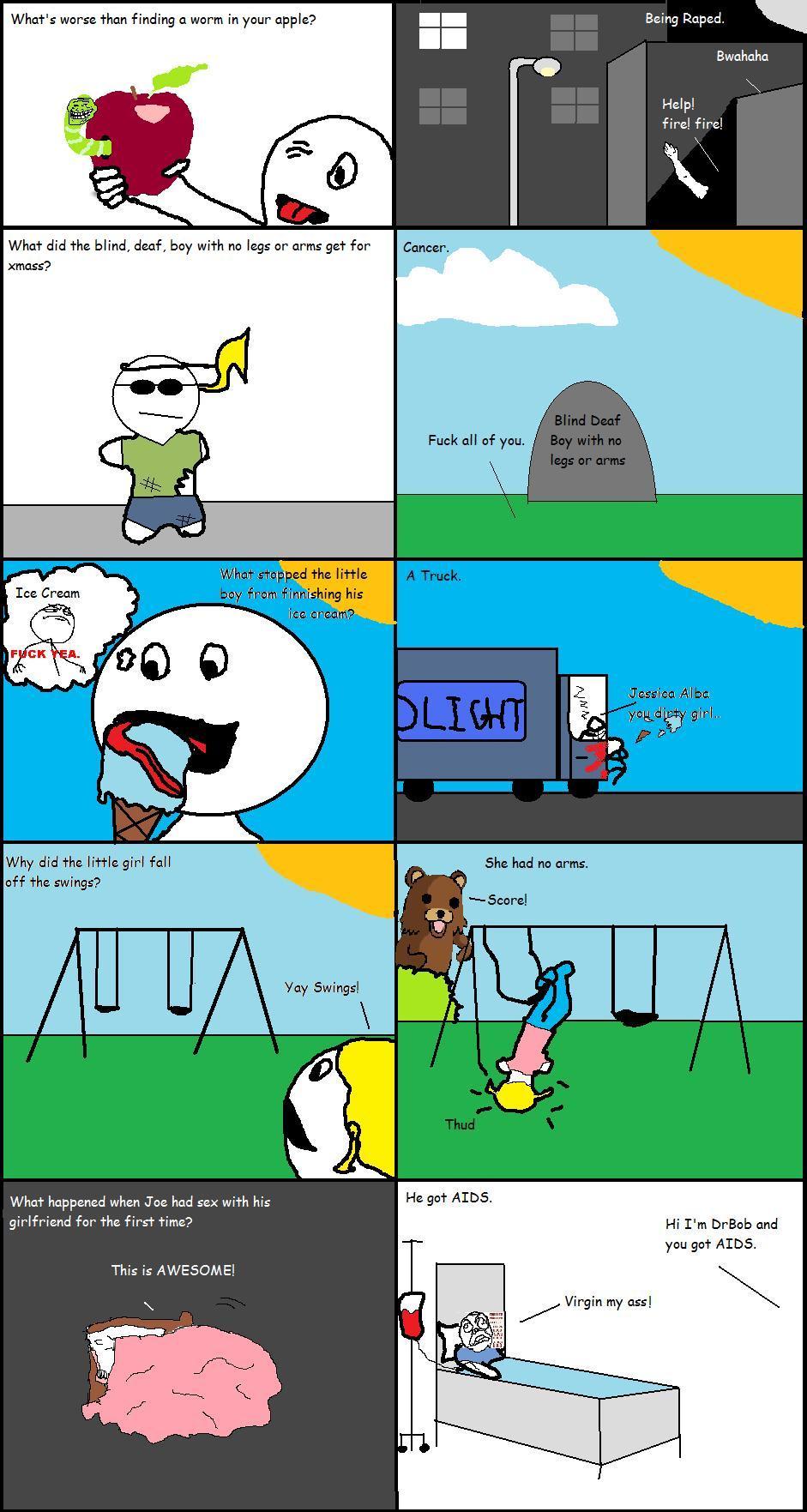 Anti-Joke Comics