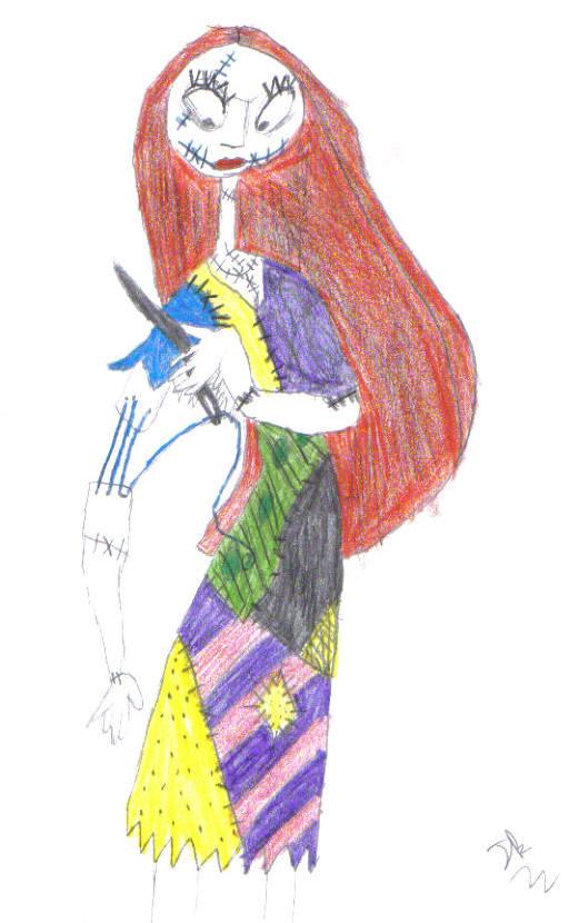 Sally Drawing