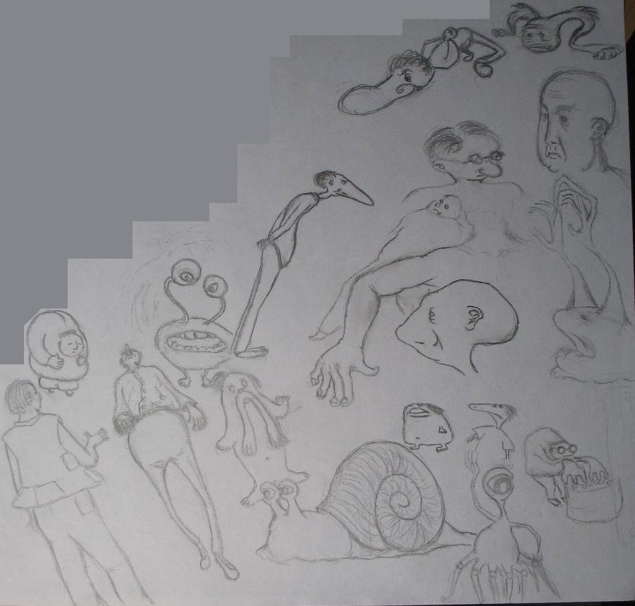 Doodles 23-07-2007