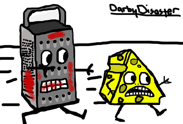 looney cheese grater