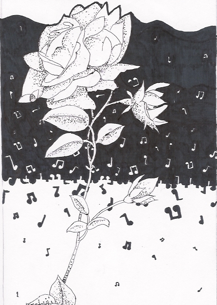 Flower in the music