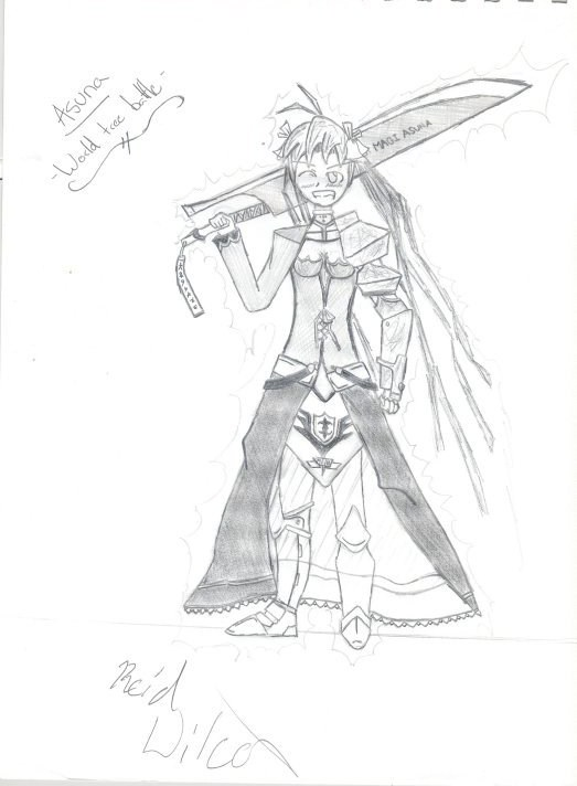 Asuna, Mahora Battle Costume