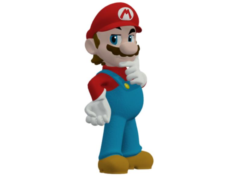 Mario in 3D
