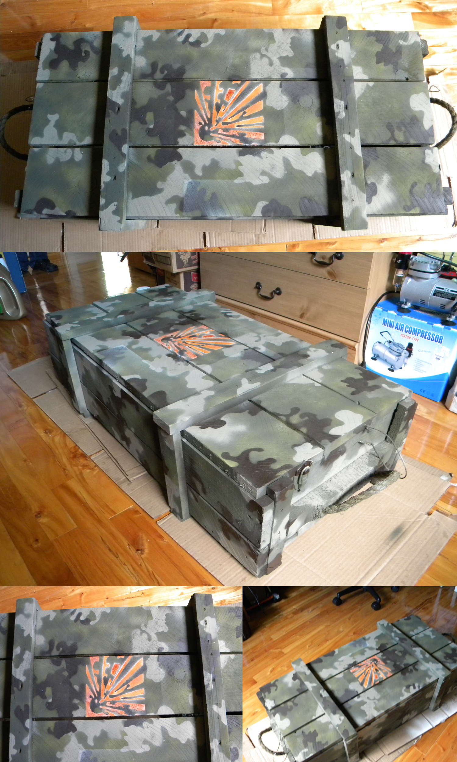 Firework crate paintjob