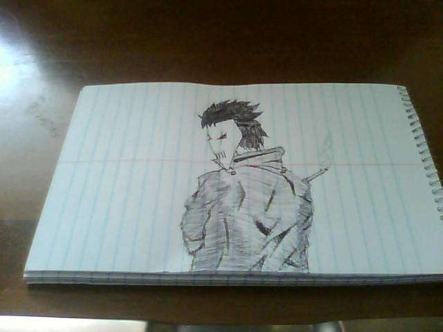 Sketch of Evil Mobster