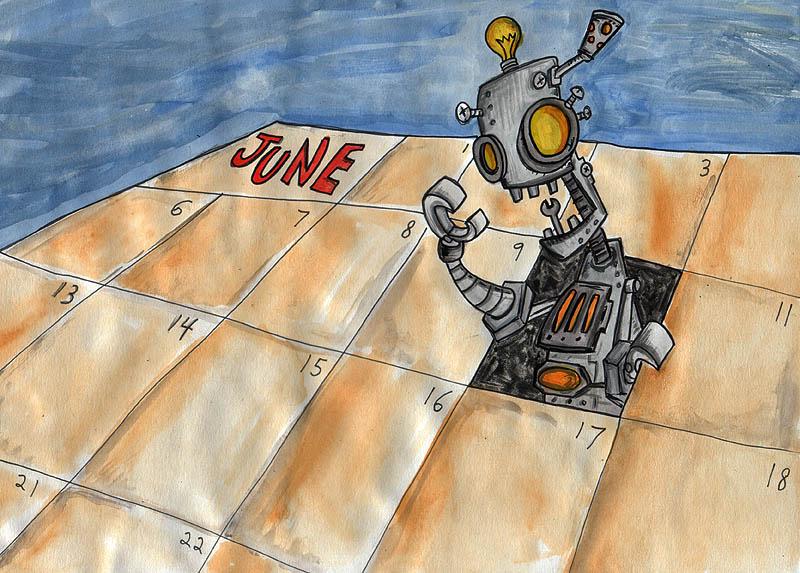 Robot Day RE: I'm a Moron.