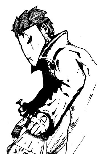 Boogle, the evil mobster.