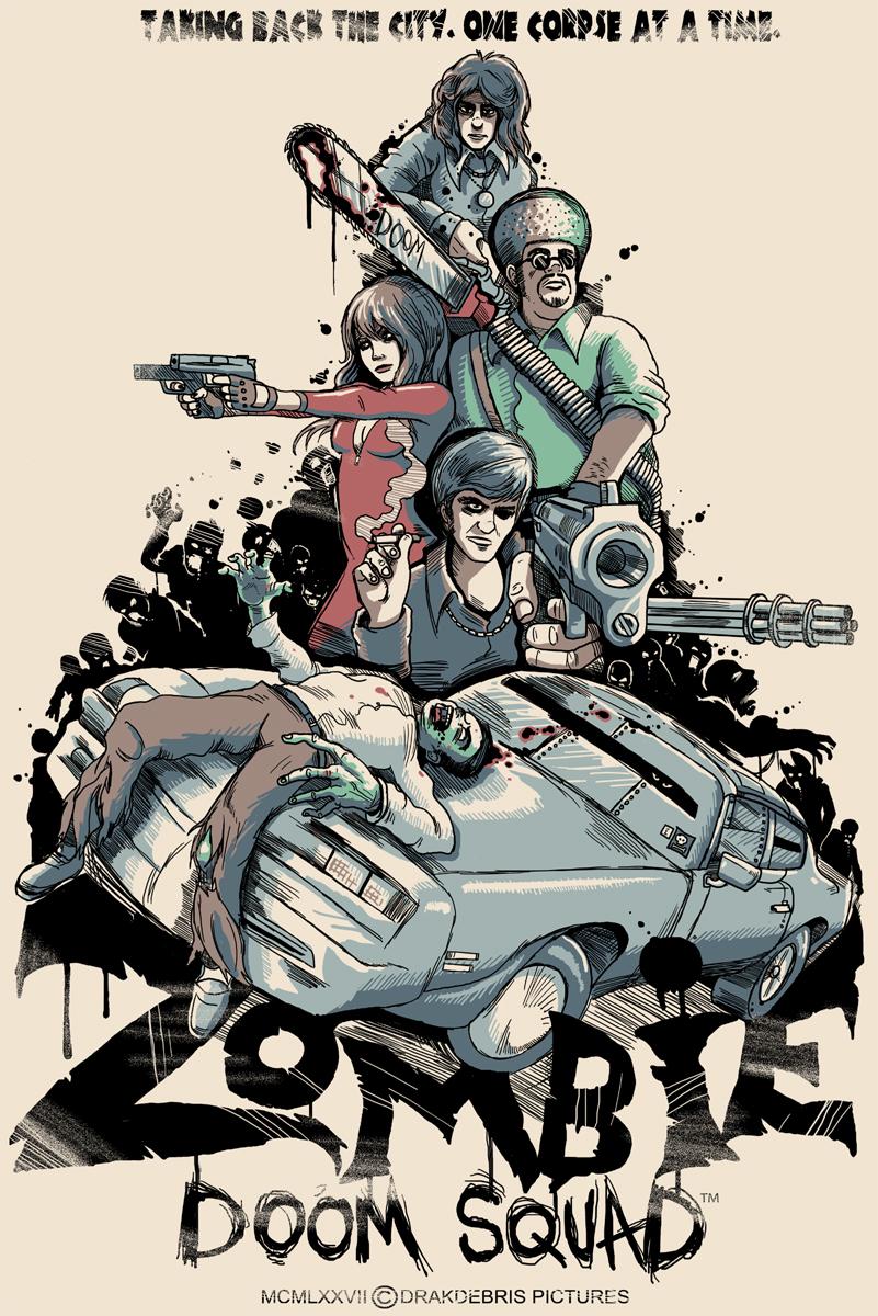 Zombie Doom Squad Poster